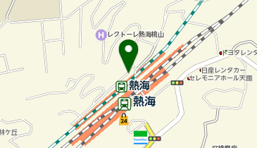 伊豆太郎 ラスカ熱海店の地図画像