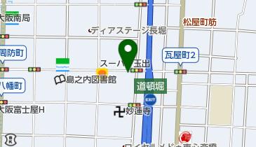 仮面女子シアターの地図画像