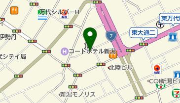THE SUNLOUNGE(ザ・サンラウンジ) 新潟店の地図画像