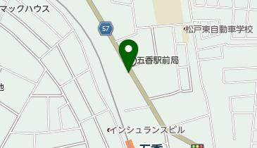 京成タクシー松戸東株式会社の地図画像
