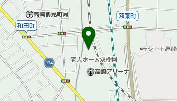 高崎アリーナの地図画像