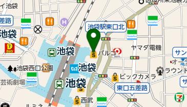 THE GUEST cafe & diner(ザゲストカフェアンドダイナー) 池袋PARCO店の地図画像