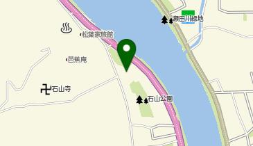 叶匠壽庵 石山寺店の地図画像