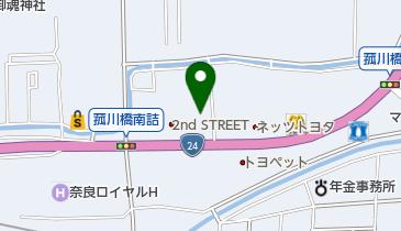 TOTO (トートー) 奈良ショールームの地図画像
