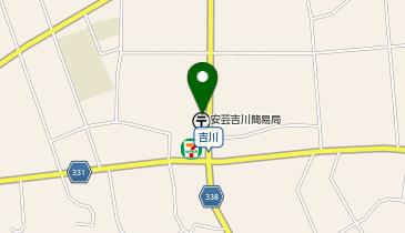 安芸吉川簡易郵便局の地図画像
