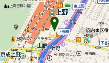 バル貝○の地図画像