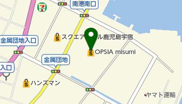 JEWEL CAFE(ジュエルカフェ) オプシアミスミ店の地図画像
