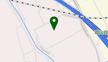 岡山郵便局の地図画像