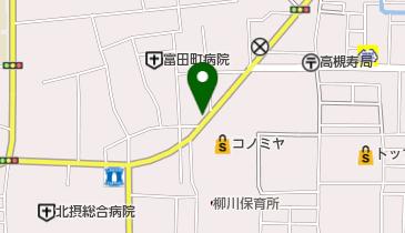 たこ焼き ひさご 富田町店の地図画像