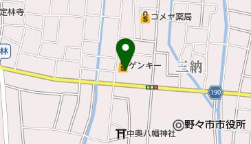 GENKY(ゲンキー) 藤平田店の地図画像