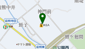 IKEA(イケア)長久手の地図画像