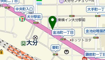 アートネイチャー 大分店の地図画像