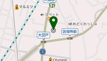 横浜市港北区役所の地図画像