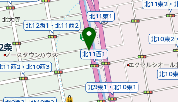 離島キッチン 札幌店の地図画像