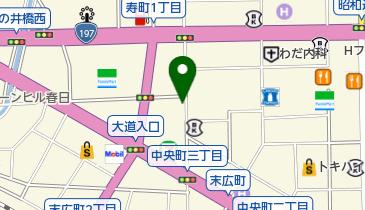 ウィッグサロンラヴィスの地図画像