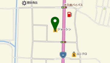 ジョーシン 城陽インター店の地図画像
