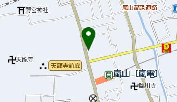 嵐山 りらっくま茶房の地図画像