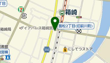 ブックスキューブリック 箱崎店の地図画像