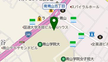 青山学院大学青山キャンパス 青山学院記念館の地図画像