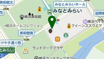 リーバイス ストア みなとみらい東急スクエア店の地図画像