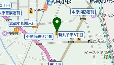 ハングリータイガー グランツリー武蔵小杉店の地図画像