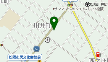 桜小町 松阪店の地図画像