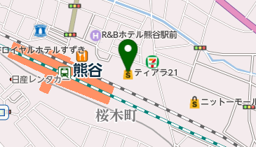 tiara21(ティアラ21)の地図画像