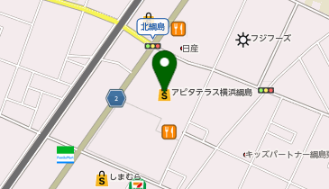 APITA TERRACE(アピタテラス)横浜綱島の地図画像