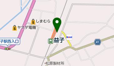 益子町観光協会の地図画像