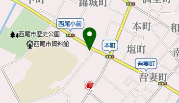 抹茶ラボ 西尾伝想茶屋店の地図画像