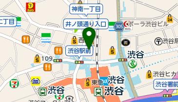 ご馳走そばそら MAGNET by SHIBUYA109店の地図画像