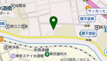 富士見坂 (本郷)の地図画像