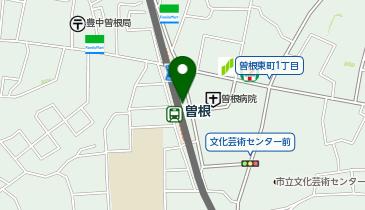 ブックファースト 曽根店の地図画像