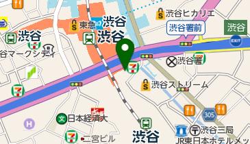 渋谷ストリームホールの地図画像