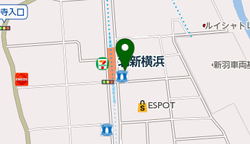 ローソン LTF北新横浜駅前の地図画像