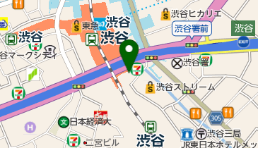 SHIBUYA STREAM(渋谷ストリーム)の地図画像