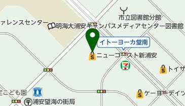 NEW COAST SHIN-URAYASU(ニューコースト新浦安)の地図画像