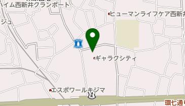 ギャラクシティの地図画像
