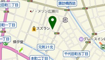 BAPE STORE(ベイプ ストア) 前橋の地図画像