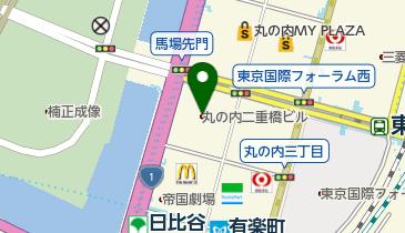 東京會舘 丸の内本舘の地図画像