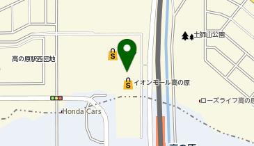 イオン 高の原店の地図画像