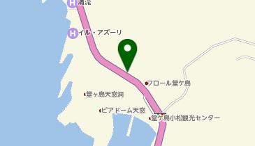 マリンステーション堂ヶ島の地図画像