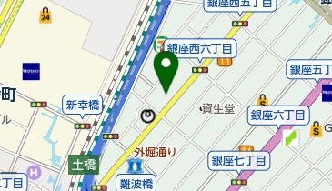 香老舗松栄堂 銀座店の地図画像