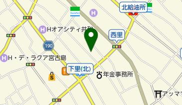 琉球かき氷 蜜屋の地図画像