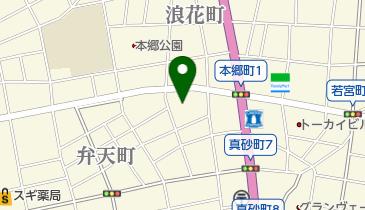 クララザールの地図画像