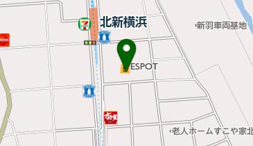 東京スター銀行ATM マキヤエスポット新横浜店の地図画像