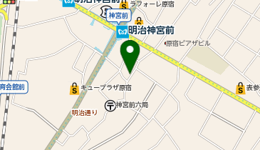 Gong cha(ゴンチャ) 原宿表参道2nd店の地図画像
