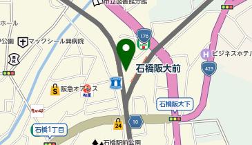 TULLY'S COFFEE Natural Station(タリーズコーヒー・ナチュラルステーション) 阪急石橋店の地図画像