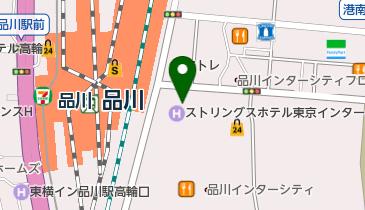 中央コンタクト 品川店の地図画像
