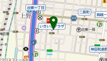 東京法務局 台東出張所の地図画像